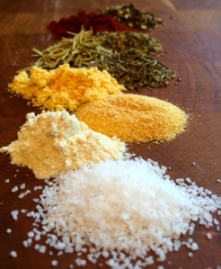 Mix and match your favorite herbs and spices to create a unique flavor blend.